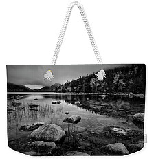 Fog On Bubble Pond Weekender Tote Bag