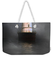 Fog On Hooper Island Weekender Tote Bag