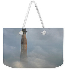 Fog On Morris Island Weekender Tote Bag