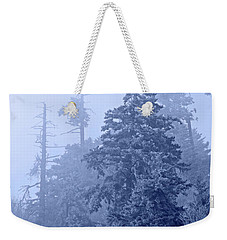 Weekender Tote Bag featuring the photograph Fog On The Mountain by John Stephens