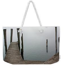 Fog On The River 26 Weekender Tote Bag