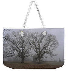 Fog On The Yorktown Battlefield Weekender Tote Bag
