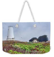 Weekender Tote Bag featuring the photograph Fog - Piedras Blancas by Nikolyn McDonald