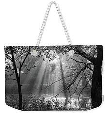 Fog Rays Weekender Tote Bag