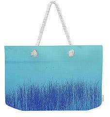 Fog Reeds Weekender Tote Bag by Laurie Stewart