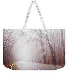 Foggy Autumn Weekender Tote Bag by Rima Biswas