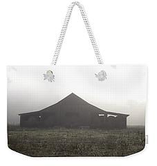 Foggy Barn Weekender Tote Bag
