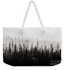 Foggy Weekender Tote Bag