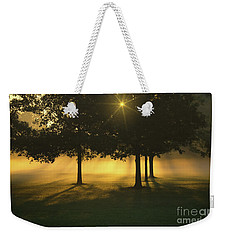 Foggy Burst Of Morning Weekender Tote Bag