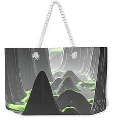 Foggy Canyon Walls Weekender Tote Bag