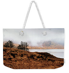 Foggy Day At Loch Arklet Weekender Tote Bag