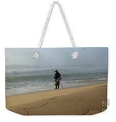 Foggy Fisherman Weekender Tote Bag