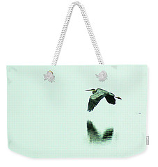 Foggy Flight, Low And Blind Weekender Tote Bag