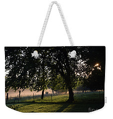 Foggy Morning Weekender Tote Bag by Mark McReynolds