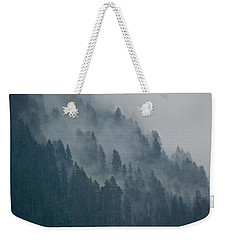 Foggy Mountain Ridge Weekender Tote Bag by Eric Tressler