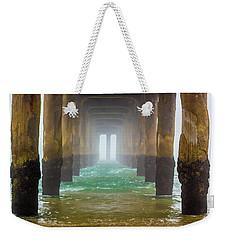Coastal Fog Weekender Tote Bag by April Reppucci