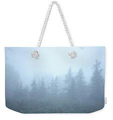 Foggy Spruce Weekender Tote Bag