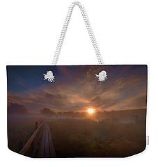 Foggy Sun #g6 Weekender Tote Bag