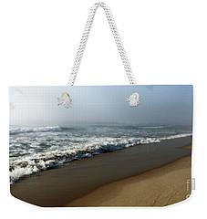 Foggy Waves Weekender Tote Bag by Mary Haber