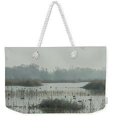 Foggy Wetlands Weekender Tote Bag