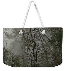 Foggy Woods Photo  Weekender Tote Bag