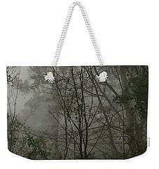Foggy Woods Photo  Weekender Tote Bag by Gina O'Brien