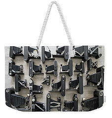 Folding Cameras Weekender Tote Bag by Keith Hawley