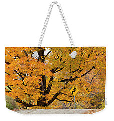 Foliage Directions Weekender Tote Bag