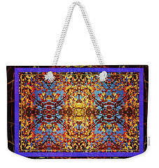 Foliage Tapestry Weekender Tote Bag