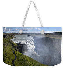 Follow Life's Path Weekender Tote Bag by Lucinda Walter