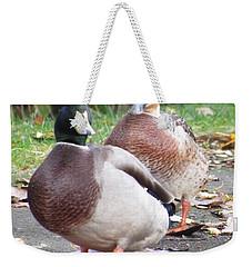 Quack..quack, Follow Me And I Follow You Later. Weekender Tote Bag