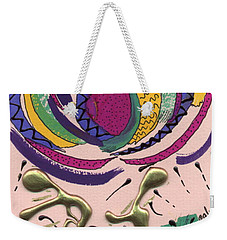 Follow Me Weekender Tote Bag by Angela L Walker
