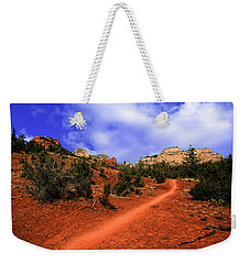 Weekender Tote Bag featuring the photograph Follow Me by Mark Myhaver