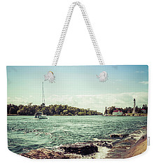 Weekender Tote Bag featuring the photograph Follow Me Now by Joel Witmeyer