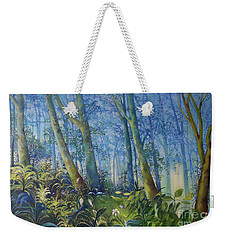 Follow Me Oil Painting Of A Magic Forest Weekender Tote Bag