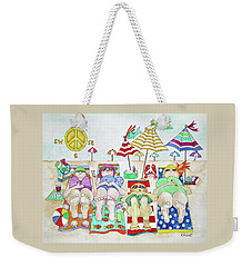 Follow The Directions Weekender Tote Bag