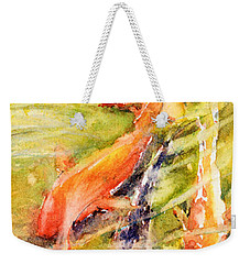 Follow The Leader Weekender Tote Bag by Judith Levins