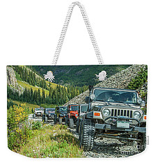 Follow The Leader Weekender Tote Bag