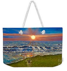 Follow The One True Light Weekender Tote Bag