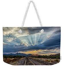 Follow The Rays Weekender Tote Bag