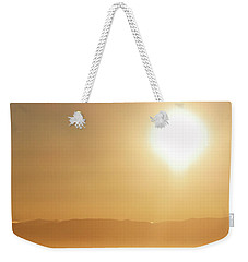 Follow The Sun Weekender Tote Bag