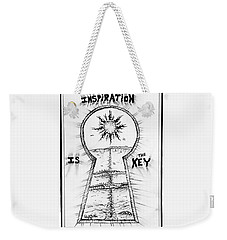 Follow Your Inspiration  Weekender Tote Bag