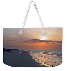 Folly Beach Sunrise Weekender Tote Bag by Meta Gatschenberger