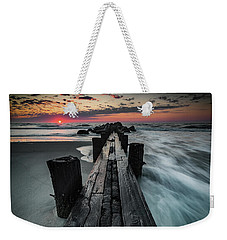 Folly Beach Tale Of Two Sides Weekender Tote Bag