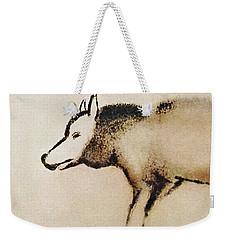 Font De Gaume Wolf Weekender Tote Bag