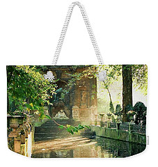 Weekender Tote Bag featuring the photograph Fontaine De Medicis by Kathy Bassett