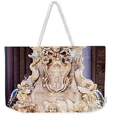 Fontana Del Pantheon - Pantheon Fountain II Weekender Tote Bag by Melanie Alexandra Price