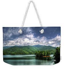 Fontana Lake Lighter Weekender Tote Bag