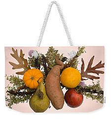 Food Bouquet Weekender Tote Bag by Lise Winne