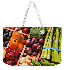 Food Compartments  Weekender Tote Bag by Garry Gay